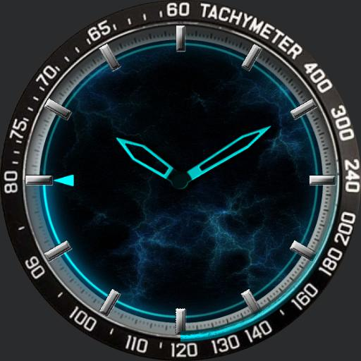 RSoftWatchFace Blu Power