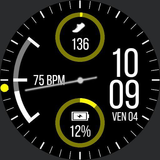 Samsung gear sport watchface