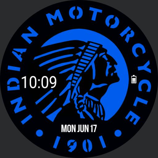 Indian Motorcycle Watch Digital
