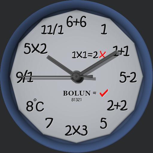 Bolun Retro Digital Algorithim Dial