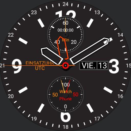 Einsatzuhr UTC 5 typ 1/2 Stunde