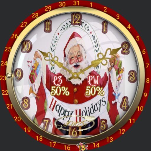 Weihnachtsmann Reise 4 Seiten Geschichte