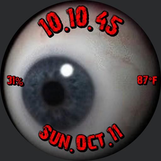 Eyeball Halloween Grimm remix