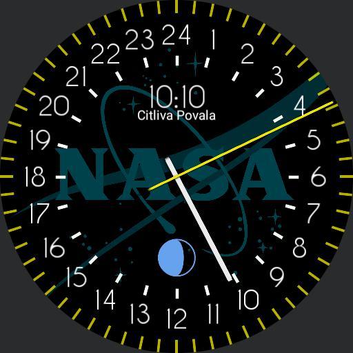 24 hour nasa astronaut watch
