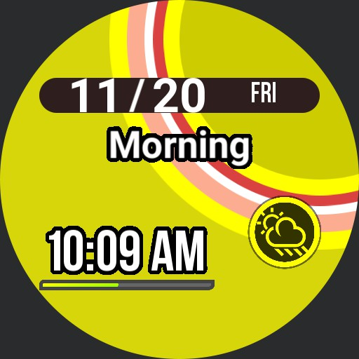 Persona 4 Watch Face