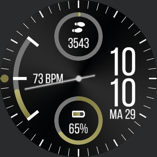 Samsung gear sport watchface 2020