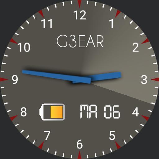 Grey blue radar