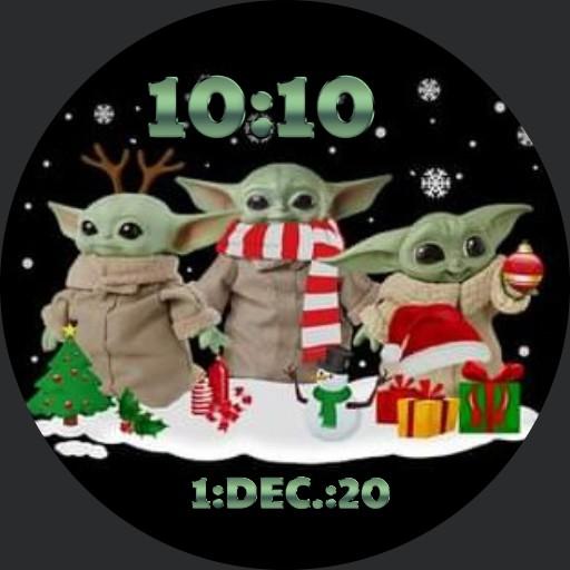 Baby Yoda Christmas