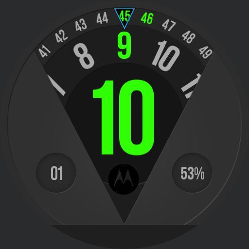 Motorola V-Type Green