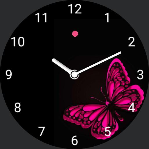 pink flutterby
