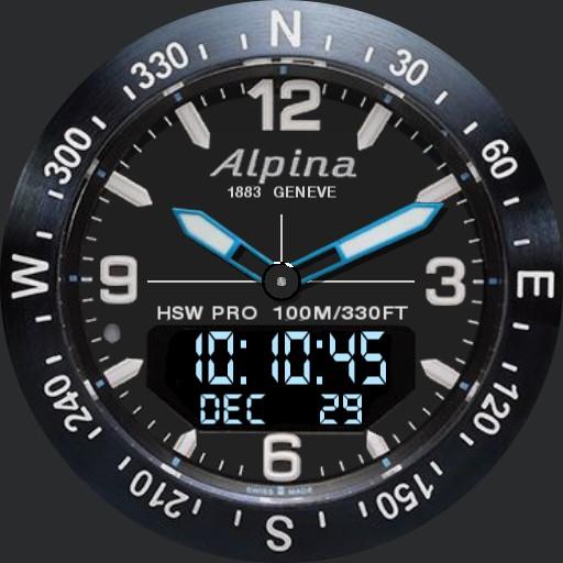 Alpina HSW Pro blue Comp