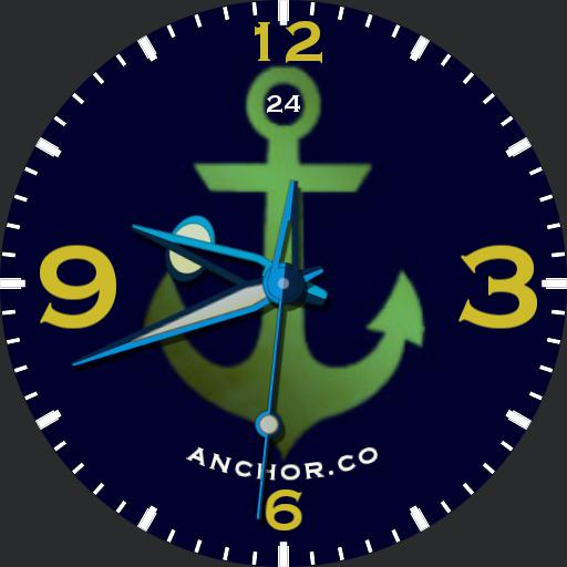 anchor watch with shadows and ucolor