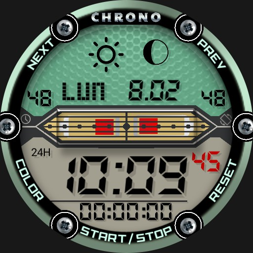 Digital Chrono Watch