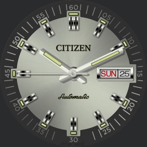 Citizen Automatic C.1970 V2 Ucolor