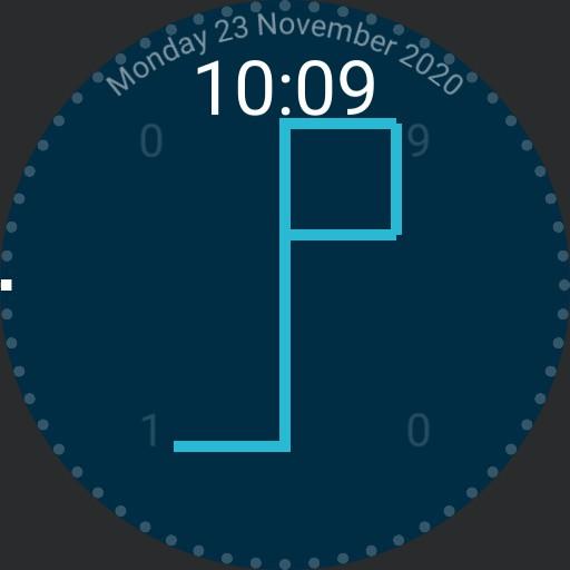 Cistercian Clock