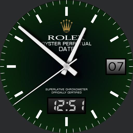 Oyster Perpetual Green
