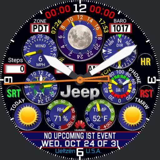 Weather Chrono Jeep