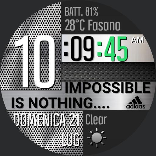 "Inox-Tech ""adidas omage"""