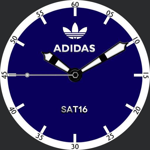 Adidas Blue White