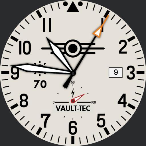 Vault-Tec - Battery Metre