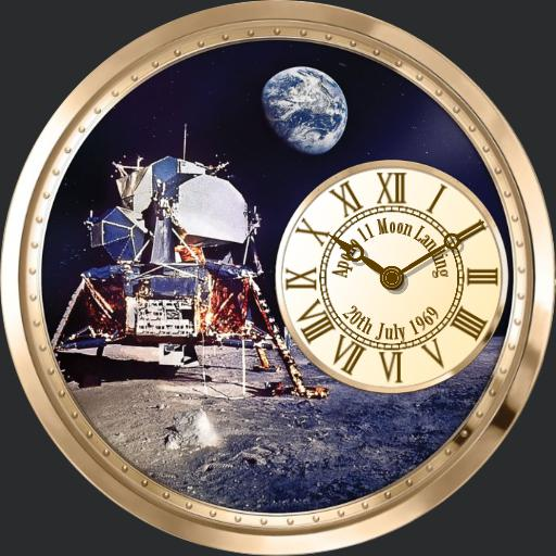 Apollo 11 50th Anniversary moon landing watch.