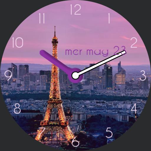 Parigi rosa sara
