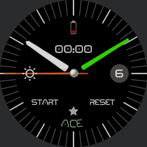 Green and White for Gear S3