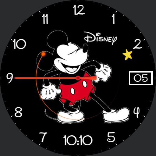 Mickey mouse animated