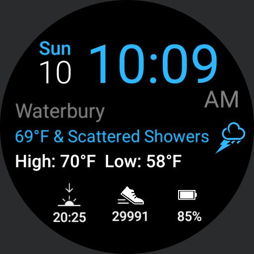 Ticwatch weather
