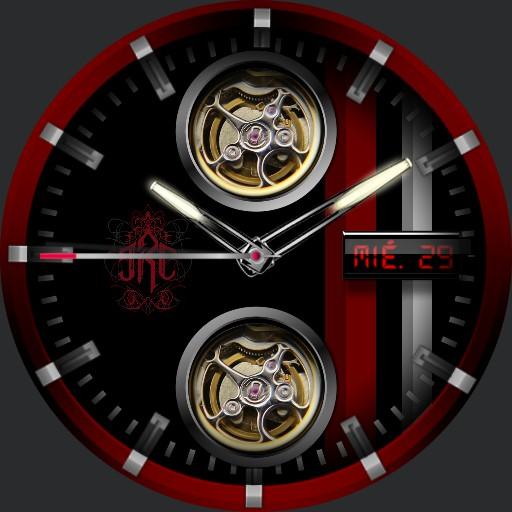JRC Mechanical dark red