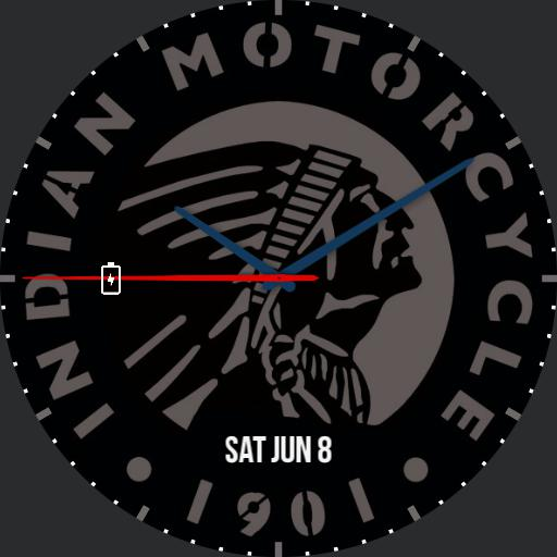 Indian Motorcycle Watch Icon