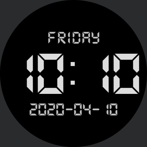 JustTheTime and Day and Date