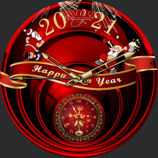 Endspurt 2021 Happy New Year Animation
