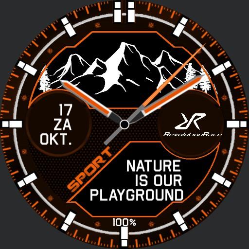 Revolution Race Mountains Orange