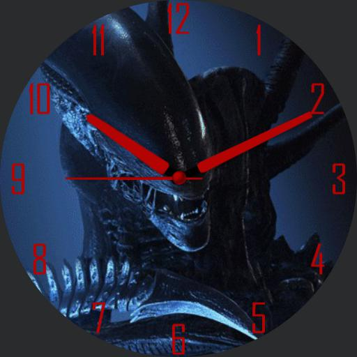Animated Alien watchface v1