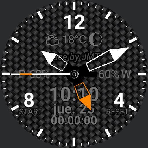 Carbon Fiber Dark III-ss Dial Dim Squeleton Hands  Final