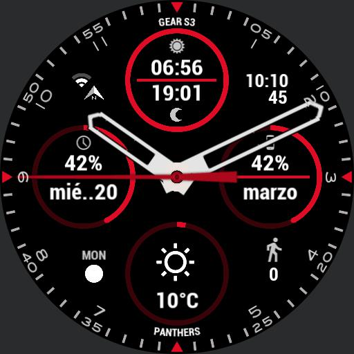 GEAR S3 PANTHERS