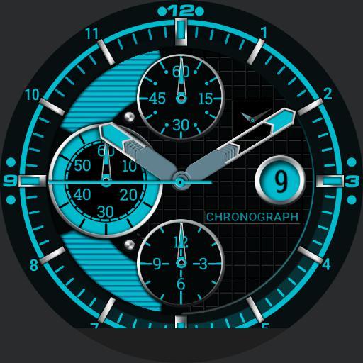 Blue Concept.