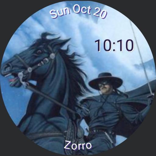Zorro - by Klaatu