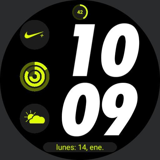 Nike Apple watch digital 5 by geeceejay Copy