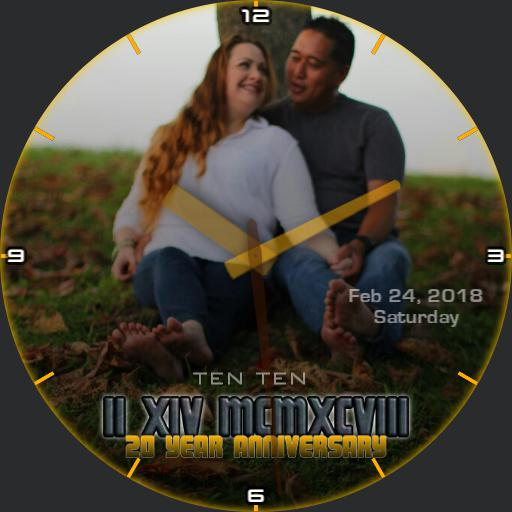 Anniversary Watch Face