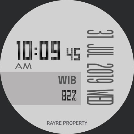 Rayre Digit Bar White