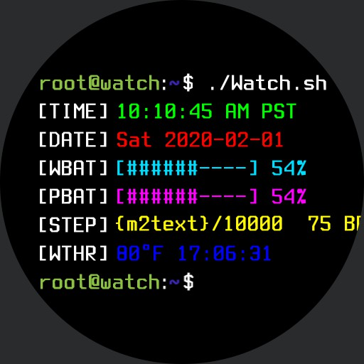 BASH Terminal - Idle