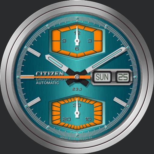 Citizen 8100 Chronograph 67-9151 C.1972