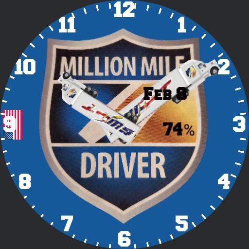 Swift Transportation  Million Mile Driver