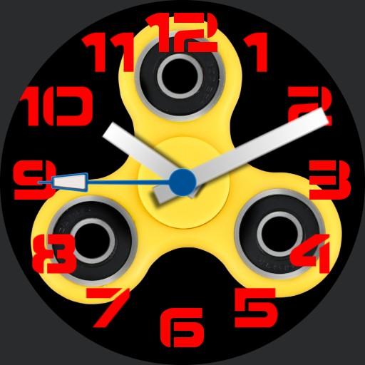Fidget Spinner Watch