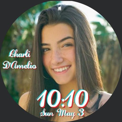 Charli DAmelio Watch face