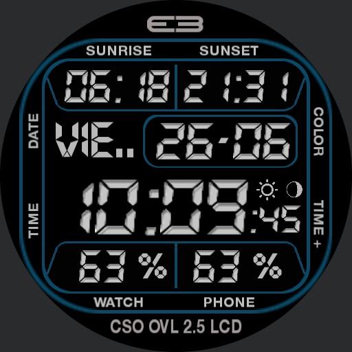 EB CSO OVL 2.5 LCD