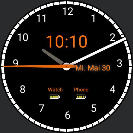 Battery Clock