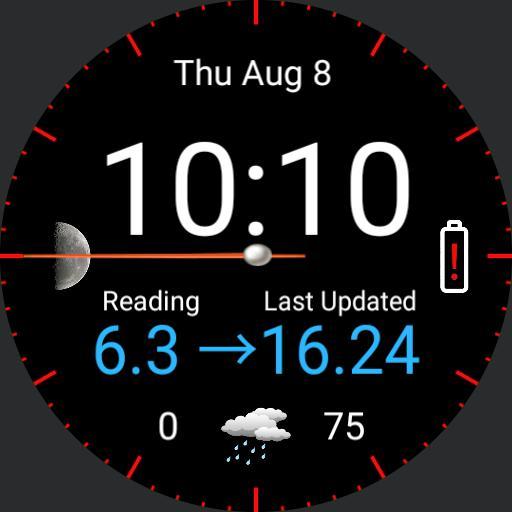 XDrip with clock